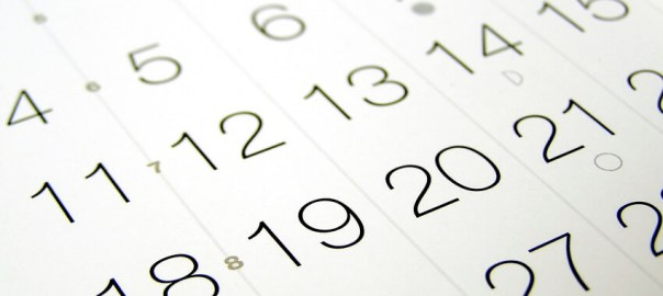 Kalendarz, premiery
