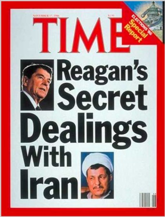 Reagans secret dealings with Iran