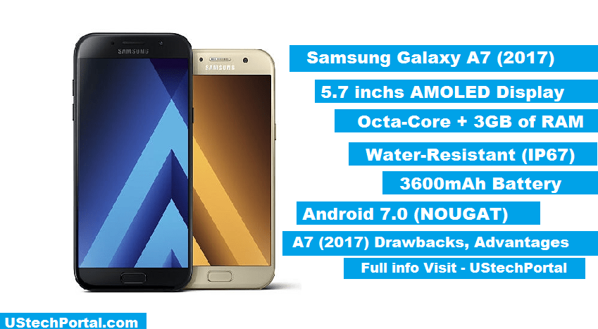Samsung Galaxy A7 (2017) Review-Full-Specification-Advantages-disadvanatges-drawbacks