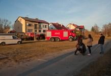 Pożar przy ulicy Sportowej w Ustce - ustka24.info