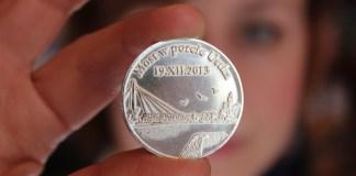 Kolekcjonerska moneta z ustecką kładką - ustka24.info