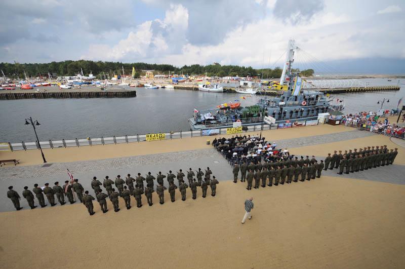 Święto Ustki i Wojska Polskiego w porcie morskim - FOTO, WIDEO