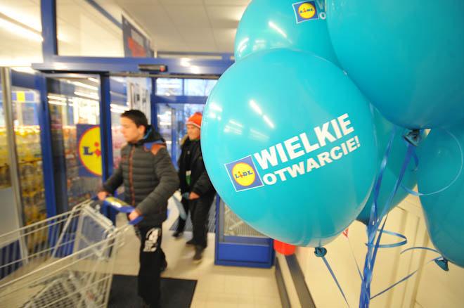 Otwarcie marketu Lidl w Ustce - ustka24.info