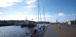 Ustka to obecnie jedyny port na polskim wybrzeżu, który nie ma mariny żeglarskiej z prawdziwego zdarzenia - ustka24.info
