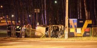Pijany kierowca zniszczył stację gazową w Ustce - ustka24.info