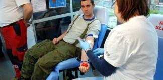 Żołnierze z CSMW w Ustce oddali krew - ustka24.info