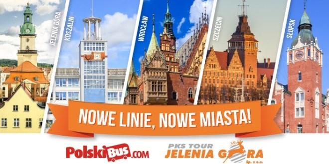 Polski Bus dojedzie z Jeleniej Góry przez Wrocław do Ustki - ustka24.info