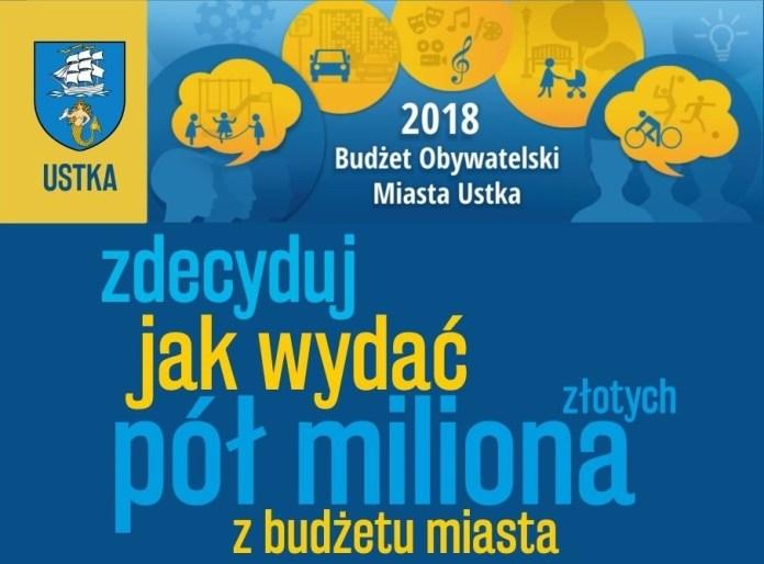 Budżet Obywatelski Ustka 2018 - ruszył nabór na wnioski mieszkańców - ustka24.info