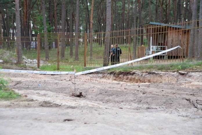 Niewybuch z czasów wojny znaleziony na ulicy Rybackiej w Ustce - ustka24.info