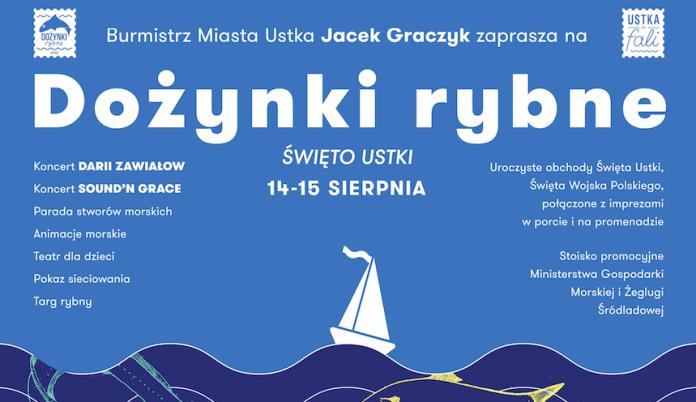 Zapraszamy na Dożynki Rybne - tradycyjne święto Ustki - ustka24.info