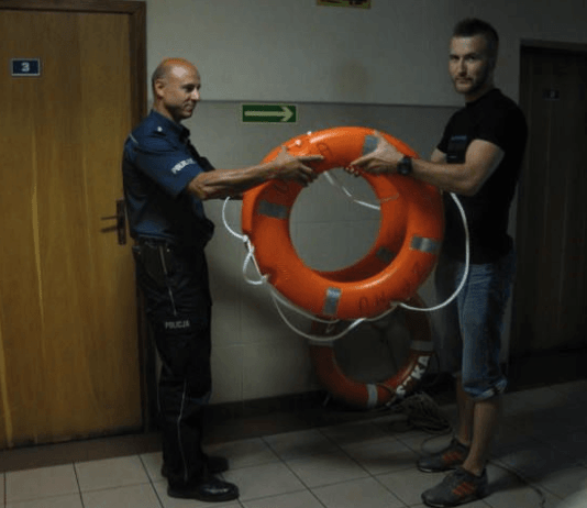 Złodzieje ukradli koła ratunkowe z usteckiego portu morskiego - ustka24.info