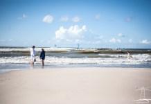 Słoneczne popołudnie na usteckiej plaży - ustka24.info