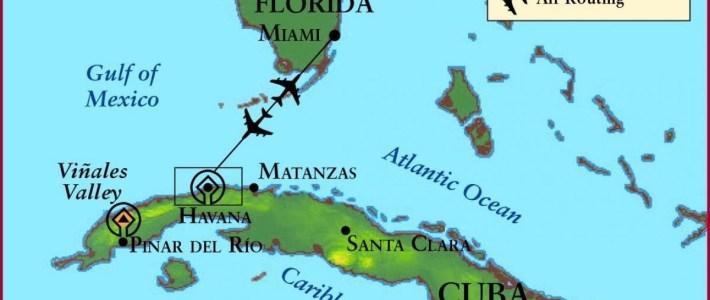 Miami Cuba Mapa De Miami E Cuba Mapa (Caribe, Américas) throughout Mapa Miami Y Caribe