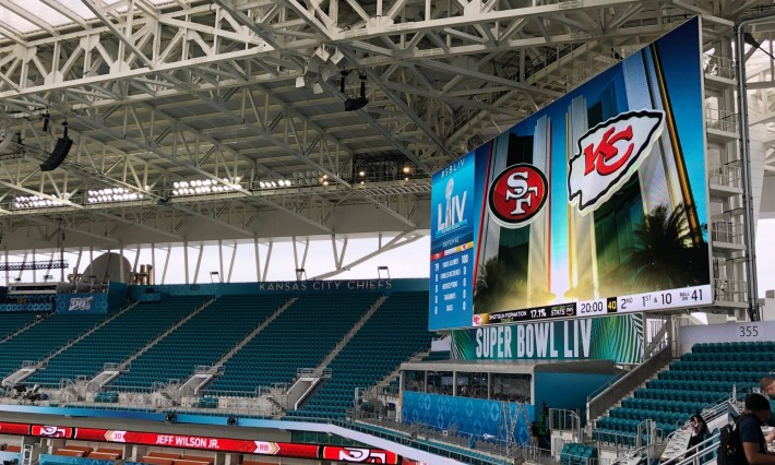 Live From Super Bowl Liv: Van Wagner Sports for Miami Super Bowl Stadium