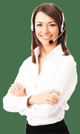 women-headset