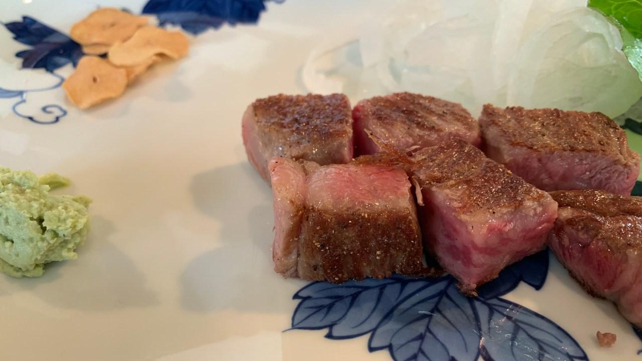 うかい亭のお肉
