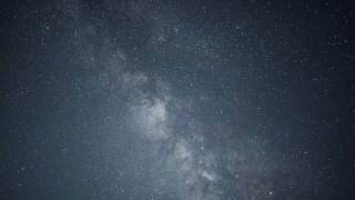星雲が見える星空