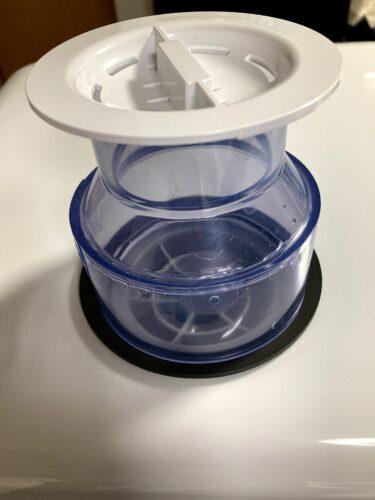 食洗機の加工した給水部