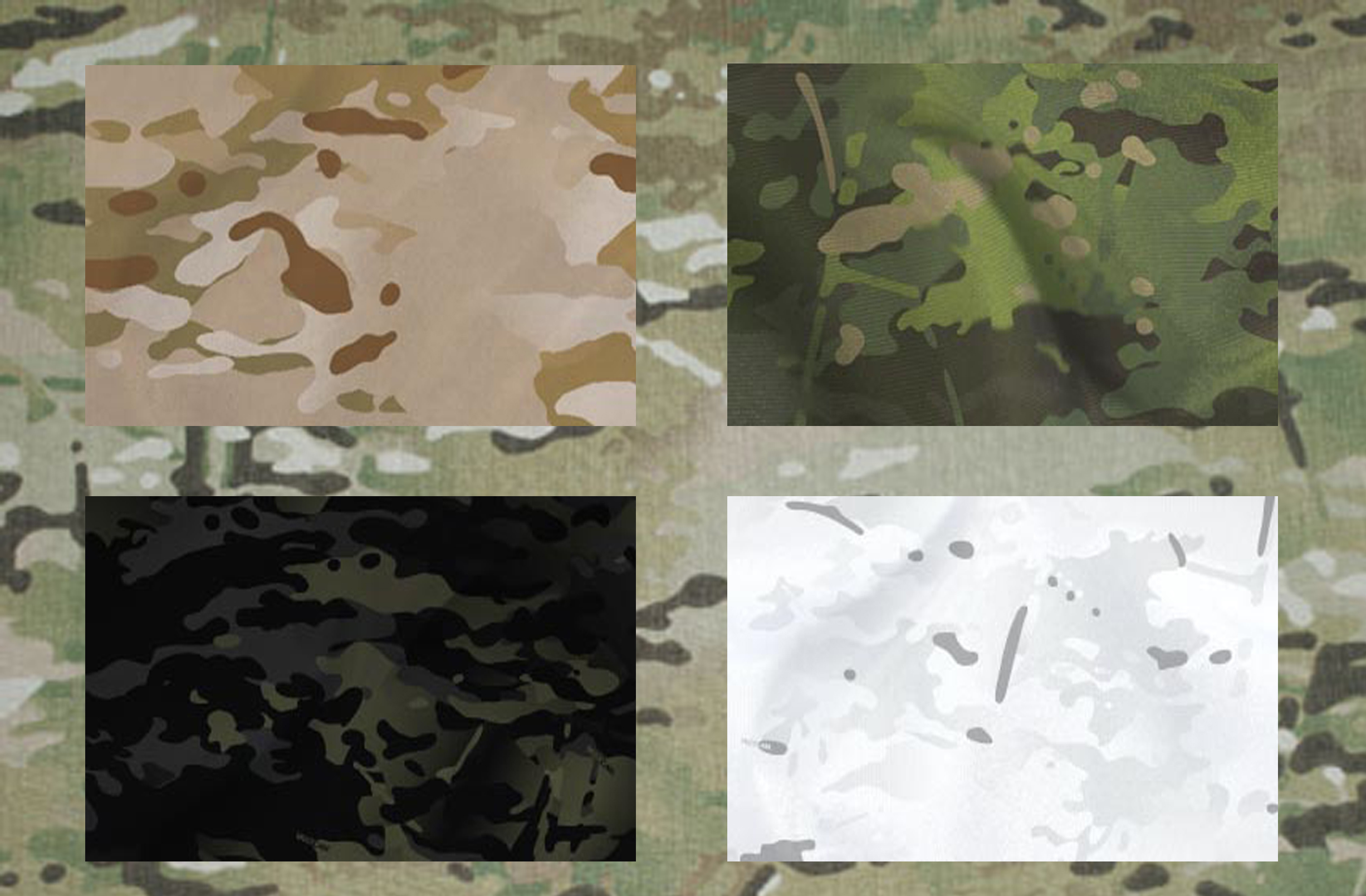 new multicam patterns revealed alpine arid tropical black