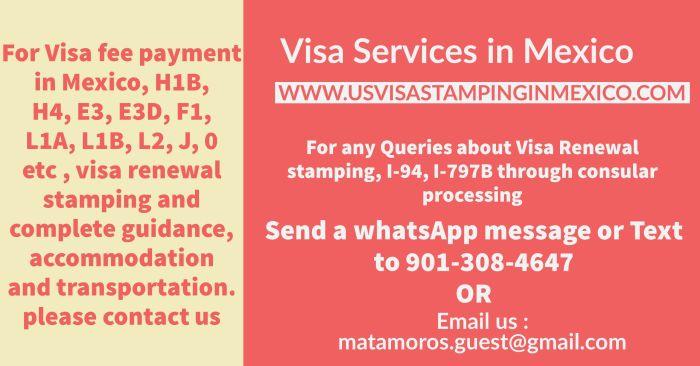 CSRA - MRV - US - Visa - Application Fee payment in Pesos - In-Person at BanAmex - Scotia - Mexican Banks in Matamoros - Monterrey- Mexico city - Nogales - Nuevo Laredo - Tijuana - cuidad juarez - Guadalajara- Mexico - H1B - H4 - E3 - E3D - L1A - L1B - L2 - F1 - J - O - Visa fee payment in Mexico - US Visa Appointment dates booking process for Mexico
