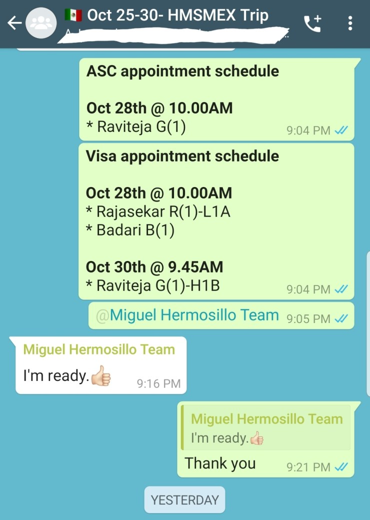 U.S. Embassy and Consulates in Hermosillo Mexico, DHL Passport Pickup Delivery Address location in Hermosillo Mexico, H1B-H4-L1A-L1B-L2-F1-F2-E3-CumberLands-University-Stamping-Visa-Renewal-Interview-Experiences-Latest-Hermosillo-Mexico