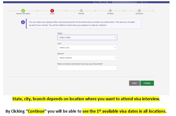 Visa Appointment Dates Booking 6 Mexico US Visa Stamping Visa Info H1B Appointment