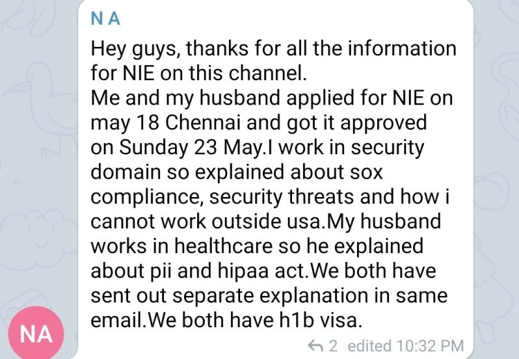 How to Apply for NIE - National Interest Exception from India to USA 13 Mexico US Visa Stamping Visa Info H1B Appointment