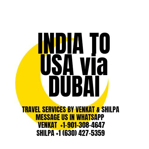 Travel to USA from India via Dubai 1 Mexico US Visa Stamping Visa Info H1B Appointment