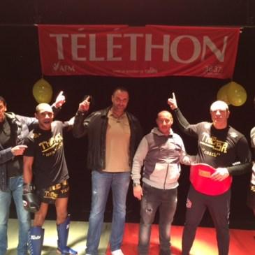 L'Académie des Boxes en demonstration a Claye Souilly pour le Telethon…