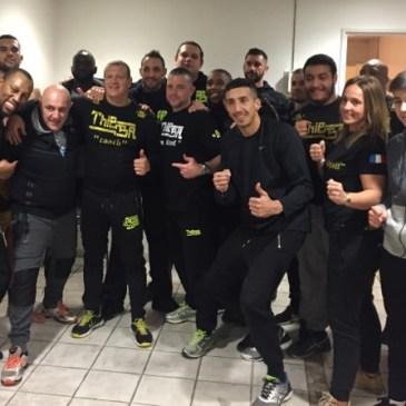 Carton plein aux Championnats de France Pro K1