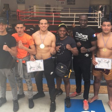 2 Villejuifois Champion de France Junior en Kick-Boxing