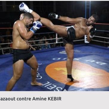 Victoire aux points de Amine.