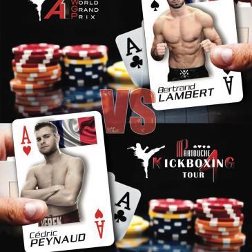 Bertrand disputera la grande finale du Partouche Kick Boxing Tour