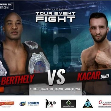 Christian « titi »  Berthely au Tour Event Fight 6