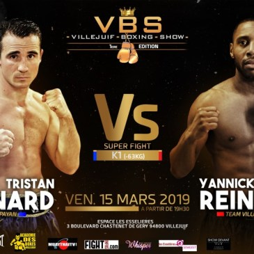 Fight Infos Fight Infos Villejuif Boxing Show : Reine – Bénard, affiche inédite !