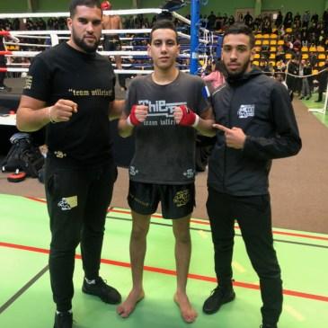 Championnat IDF de Muaythai à Bagnolet.