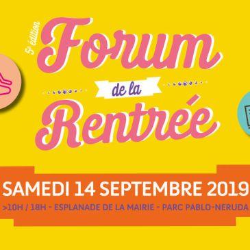 Forum de la Rentrée 2019: