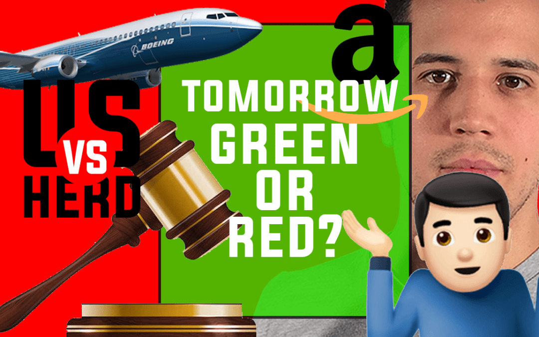 Tomorrow Green or Red? – 2020 Stock Market Crash – Options Trading Watchlist
