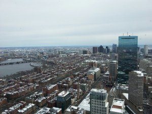View from the Skywalk Observatory.