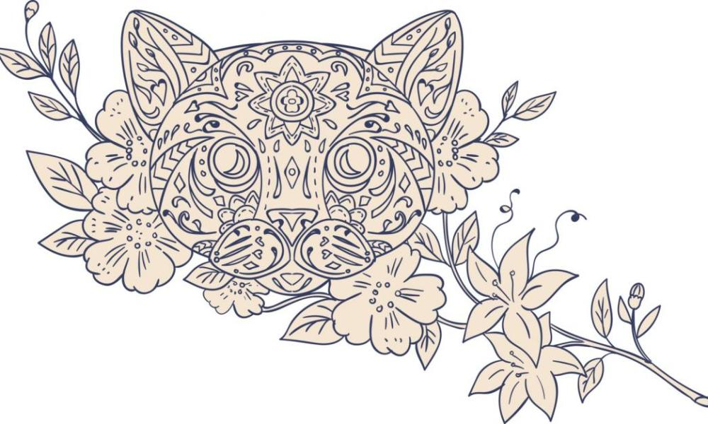 cat-head-jasmine-flower-mandala[1]
