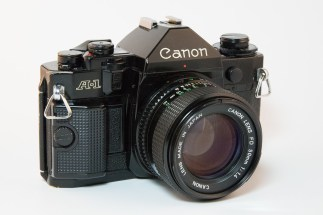 Canon A-1 with 50mm f1.4 Lens