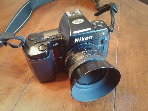 Nikon N8008, Nikkor 50mm f/1.8