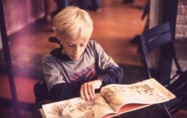 Child Reading - Ogden, Utah