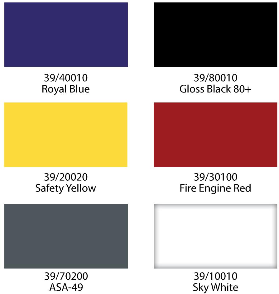 Structural Mezzanines Colors