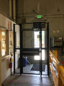 Security Cage To Avoid Theft: Receiving cage