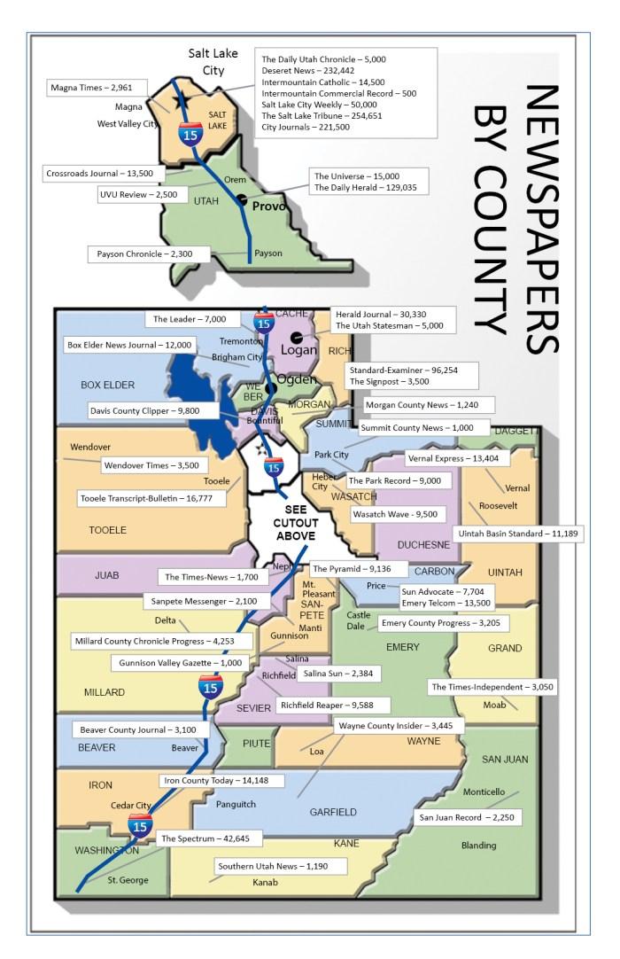 UTAH MAP 2016-COLOR w I-15