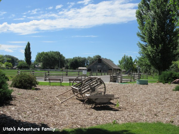 The American West Heritage Center is a working farm.