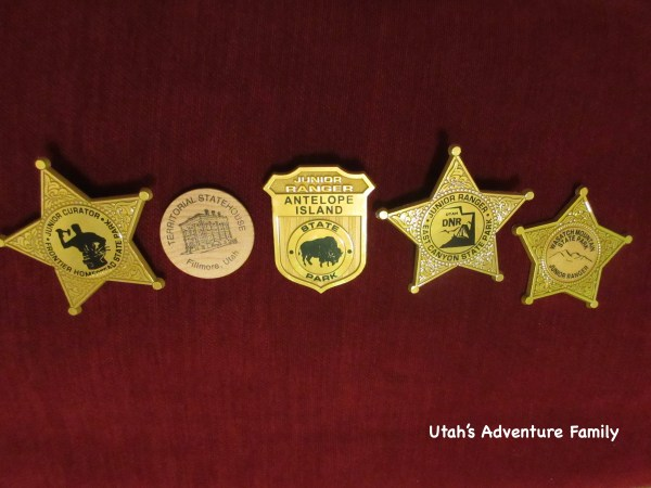 Here are just a few of the badges from Utah State Parks.