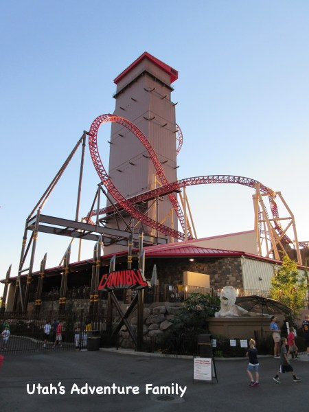 Cannibal is one of our favorite roller coasters ever! It's intense and awesome all at the same time!