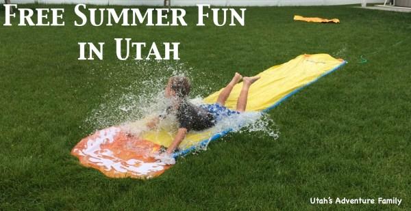 Free Summer Fun in Utah